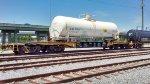QTTX 131344 hauling damaged tank car OLNX 715111