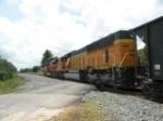 BNSF 8800 Trailing