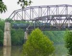 CSX Coal Train on L&N Licking River Bridge