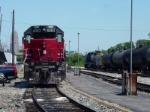 At old Amtrak Station in Cincinnati