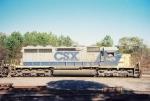 CSX SD40-2 8479