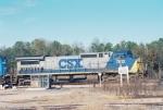CSX C40--8W 7813