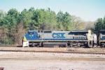 CSX C40-8W 7719