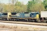CSX C40-8 7513