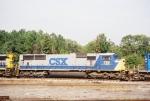 CSX SD70MAC 708