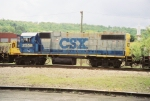 CSX GP38-2 2558
