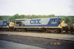 CSX B30-7 5507