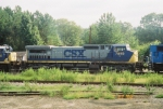 CSX C40-8W 7859