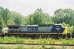 CSX C40-8W 7395