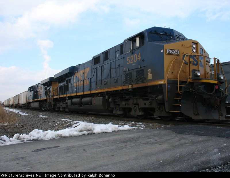 Q156-07  on Track 11 awaiting departure for Kearny, NJ