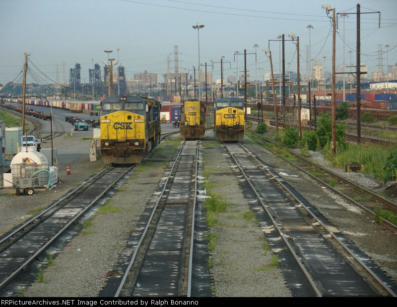 Looking east at the Relay service tracks in a not too often viewed angle