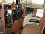 Engineer's controls of UP SD70  on Q112