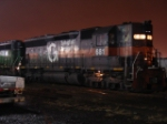 ST SD45 # 681 awaits the call for Q271-29 at 4:20 AM