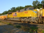 My Trailing Unit(new SD70ACe) on Q157-01 seen near CP-10