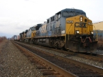 Q156-21 sits at CP-3 with an AC44-ES44DC-SD70ACe consist