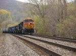 Q402 rolls north at MP 53 with an assortment of power