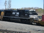 NS SD70M-2 vists briefly on run through train Q119-26