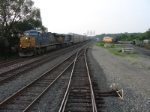 Q298, a version of Q268, rolls south  through CP-5 enroute to Newark, NJ