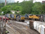 CSX SD80MAC and UP SD70M