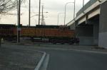 BNSF Under The Overpass