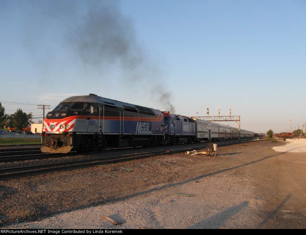 METX 402 with a smokin' METX 195