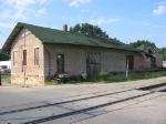The old Chicago and Alton depot.