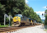 CSX 5270 and 5501