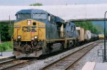 CSX 5474 and CSX 7544 is on the move