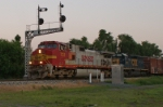 Q342 With BNSF Warbonnet