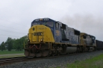 K185 With An SD70MAC Leader