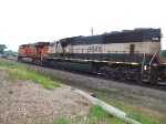 BNSF 9645 and 6028
