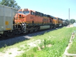 BNSF 6056 and 8889
