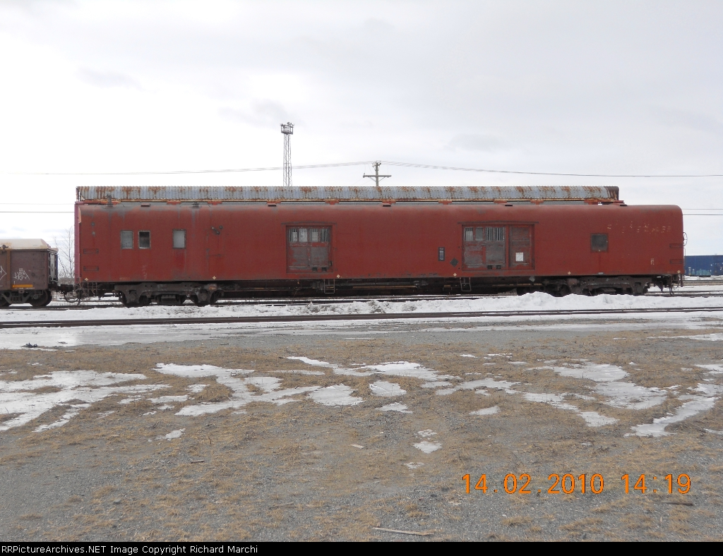 Old baggage car