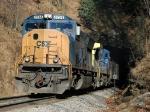 CSXT 4734 exits Blue Ridge Tunnel