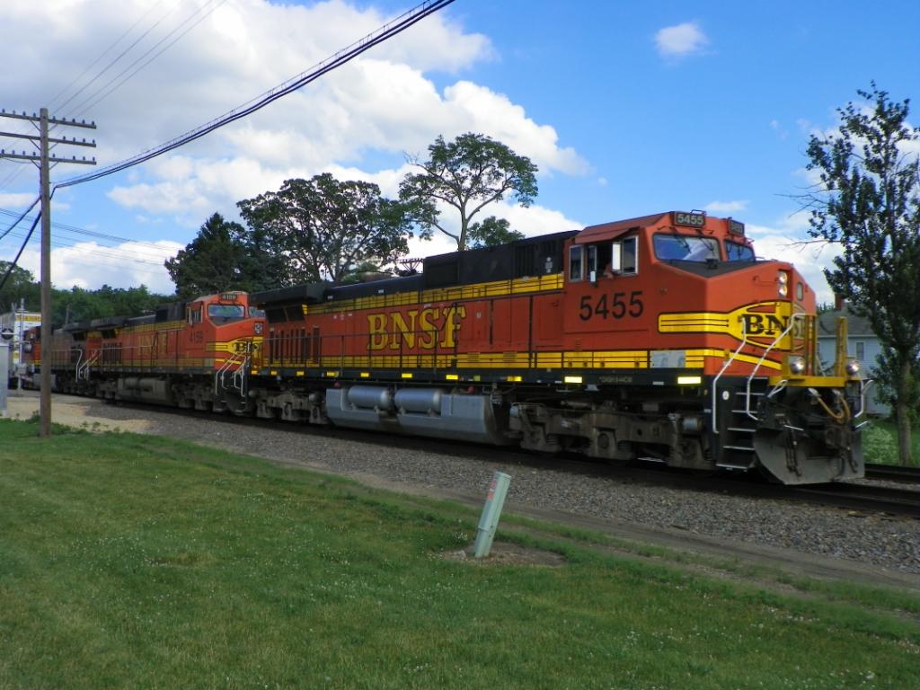 BNSF 5455
