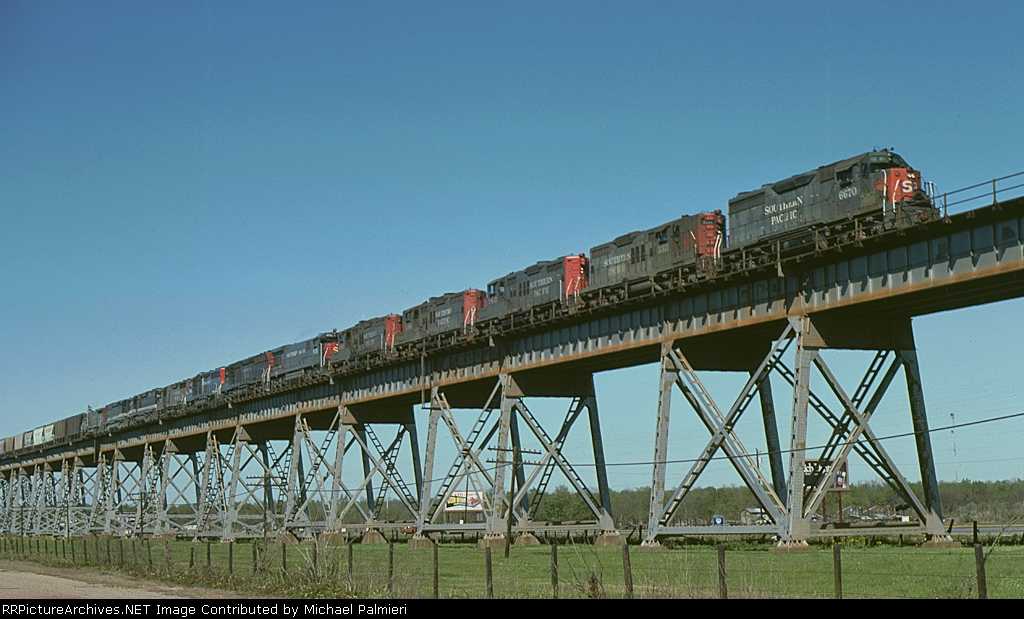 Twelve-Engine Train
