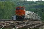 Westbound BNSF Officer Special Train