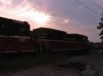 P&W sunset