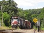 Southbound NECR freight