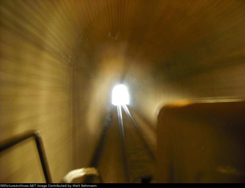 In Unionville Tunnel