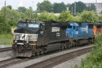 NS 9457 & 5443 (Old CQ) & BNSF 4605