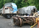 Classic streamliners under restoration