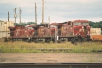 Eastbound intermodal makes setout