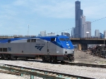 AMTK 196 & the Chicago Skyline