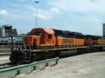 BNSF SD40-2 7184