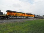 BNSF 6781 and 6782 headed west to their new home.