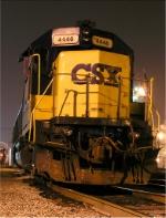 CSX 4446 playing yard engine