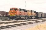 Coal train waits in the yard