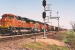 Empty coal train rolls west through KO Jct