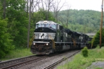 NS 7216 heads up the South Fork Secondary